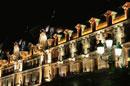ホテルのライトアップ
