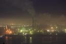 鍋島山から望む工場地帯の夜景