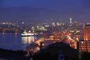 函館湾の夜景