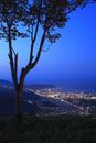 天狗山から眺める小樽の夜景
