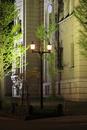 日本銀行旧小樽支店金融資料館のライトアップ