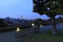 根岸森林公園から眺めるみなとみらいの夜景