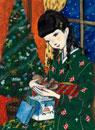 クリスマスギフトと少女