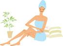 お風呂上がりのボディケア
