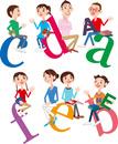 ディスカッション(対話)する大人と子供