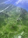 GEOARTニセコ連峰・羊蹄山 雲・文字情報有