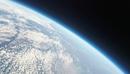 日本上空から見た地球 宇宙に浮かぶ青い惑星