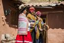 ペルー・ウルバンバの先住民ケチュア族が民族音楽を奏でる