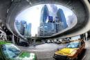 新宿駅地下のタクシー乗り場