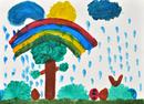 雨のあとの楽しみ