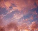 モンマルトルの丘から望む夕焼け