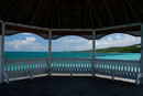 Looking out of gazebo