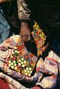 Walpari Tribe,dot painting,Close Up