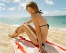 Teenager at Beach