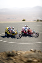 Spain, Canary Islands, Fuerteventura, tourists on trikes