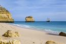 Portugal, Algarve, Sailing ship