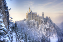 Neuschwanstein Castle in Winter, Bavaria, Germany