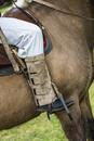 Close-up of Man Riding a Horse at Candelaria del Monte, San Miguel de Monte, Argentina