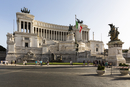 Monument to Vittorio Emanuele II at Piazza Venezia, Rome, Italy