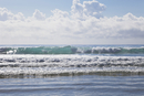 New Zealand, Waves of South Pacific Ocean