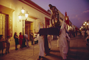 Easter procession, Oaxaca, Mexico, Central America