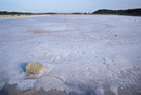 Salt lake at Ses Salines, Formentera, Balearic Islands, Spain, Mediterranean, Europe