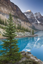 Moraine Lake in the Canadian Rockies, Banff National Park, UNESCO World Heritage Site, Alberta, Canada, North America