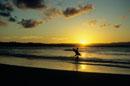Surfer on Byron Bay