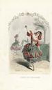 Pomegranate fairies dancing