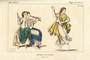 Girl dancing to music, 9th century.