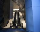 Escalator into Office Building HK