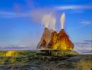 ブラックロック砂漠の間欠泉温泉(フライガイザー) ネバダ州