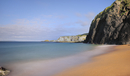 Beach and cliffs east of Ballintoy village, North Antrim, No