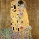 The Kiss, 1907-08 (oil on canvas)