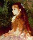 Portrait of Mademoiselle Irene Cahen d'Anvers,1880 /イレー