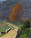 Bridge over the Beal, 1922 (oil on canvas)