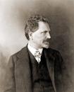 Portrait of Alfons Mucha, 1906 (b/w photo)