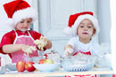 Two 'young bakers' in action