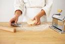 Making Pasta Dough: Working the Dough