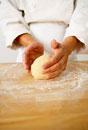 Making Pasta Dough: Forming the Dough into a Ball
