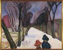 Snowtime on the Walk, 1906