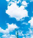 青空と自由の女神