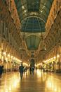 イタリア ミラノのアーケード街ガッレリア