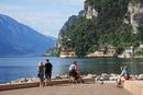 イタリア ガルダ湖畔の街 リーヴァ・デル・ガルダ