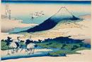 冨嶽三十六景 28相州梅澤