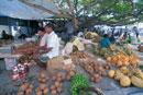 マーレの果物市場