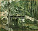 マンシーの橋 ポール・セザンヌ