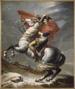 サン=ベルナール峠のナポレオン
