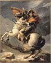 Bonaparte,Premier consul,franchissant les Alpes,au mont S