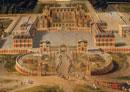 Vue du chateau de Versailles en 1668(部分)